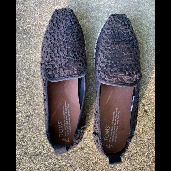 Toms Shoes - Brand new Toms - black - 8.5